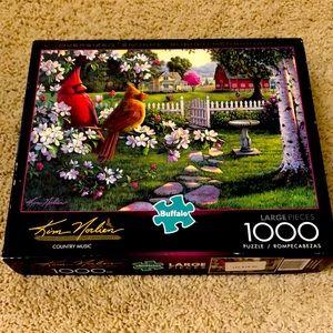 1000 piece Buffalo puzzle